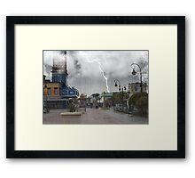 Broadway At The Beach Framed Print