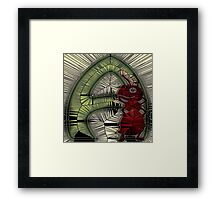 Alphabet Mosaic Letters - A Framed Print
