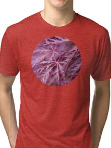 Japanese Maple Macro Tri-blend T-Shirt