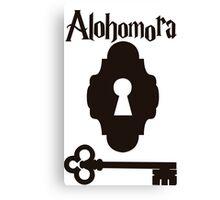 Alohomora Canvas Print