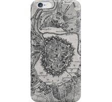 Vintage Map of Vienna Austria (1780) iPhone Case/Skin