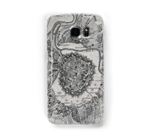 Vintage Map of Vienna Austria (1780) Samsung Galaxy Case/Skin