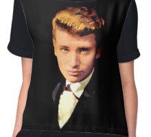 Johnny Hallyday wonderful and exclusive design! Chiffon Top