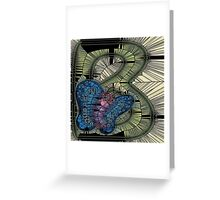 Alphabet Mosaic Letters - B Greeting Card