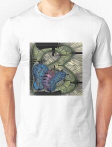 Alphabet Mosaic Letters - B Unisex T-Shirt