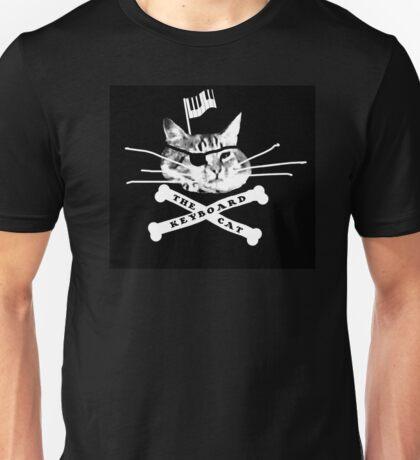 Keyboard Cat Pirate Unisex T-Shirt