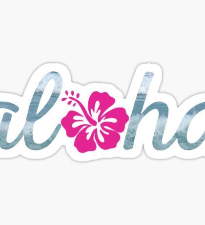 aloha hibiscus Sticker