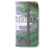 Aether - Landscape 1 (with Logo) iPhone Wallet/Case/Skin
