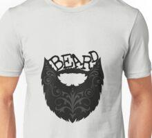 Ornate Black Beard Unisex T-Shirt