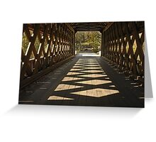 Shadow Play Greeting Card