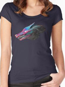 Color Wolf Women's Fitted Scoop T-Shirt