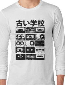 Old Cassettes Long Sleeve T-Shirt