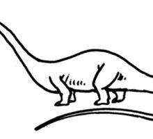 diplodocus Sticker