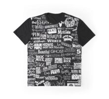 broadway baby {black and white version} Graphic T-Shirt