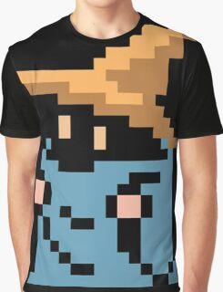 FINAL FANTASY - BLACK MAGE - RENDER (REDRAWN PIXEL) Graphic T-Shirt