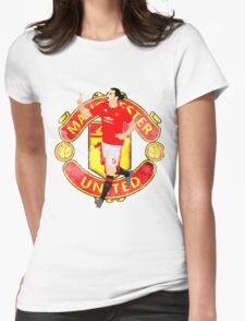 ZLATAN IBRAHIMOVIC : MANCHESTER UNITED : VECTOR Womens Fitted T-Shirt
