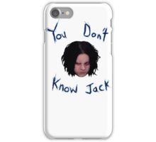 Jack White - You Don't Know Jack iPhone Case/Skin