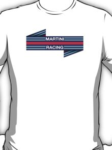 Formula 1 Martini Racing livery T-Shirt