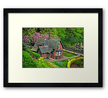 Gardener's cottage Framed Print