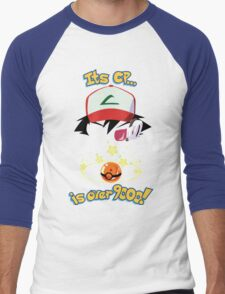 Its CP is over 9000! Men's Baseball ¾ T-Shirt