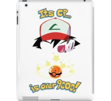 Its CP is over 9000! iPad Case/Skin
