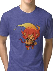 yo kai watch blazion Tri-blend T-Shirt