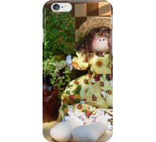 Rooster Doll iPhone Case/Skin
