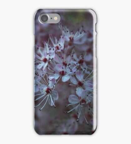 Multiple tiny pink flowers picture iPhone Case/Skin