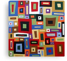 Colored Blocks Canvas Print