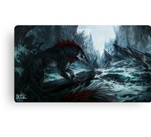 The God Slayer Canvas Print