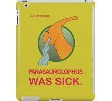Sick Parasaurolophus iPad Case/Skin