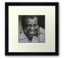 """Louis """"Satchmo"""" Armstrong Framed Print"""
