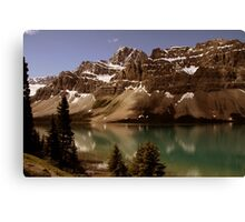 Bow Lake Canvas Print