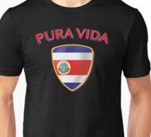 COSTA RICA PURA VIDA ESCUDO Unisex T-Shirt