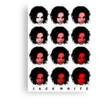 Jack White - Red Pattern Canvas Print