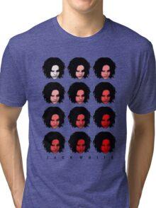 Jack White - Red Pattern Tri-blend T-Shirt