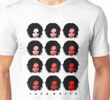 Jack White - Red Pattern Unisex T-Shirt
