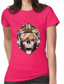 Star Wars Rebel Helm Womens Fitted T-Shirt