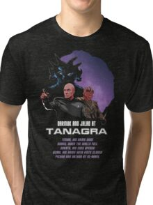 Darmok and Jalad at Tanagra Tri-blend T-Shirt