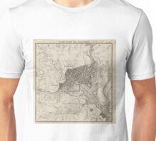 Vintage Map of Washington D.C. (1815) Unisex T-Shirt