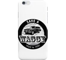 Save A Waggy iPhone Case/Skin