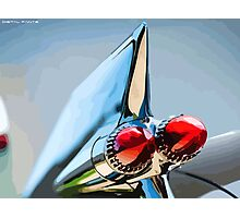 Tail lights Photographic Print