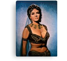 Gina Lollobrigida Painting Canvas Print