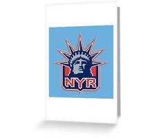 new york ranger logo Greeting Card