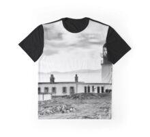 Neist Point Lighthouse, Isle of Skye, Inner Hebrides, Scotland Graphic T-Shirt
