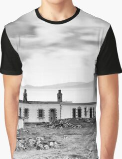 Neist Point Lighthouse, Isle of Skye, Inner Hebrides, Scotland Graphic T-Shirt