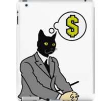 Cat Man iPad Case/Skin