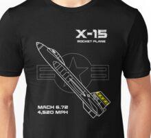 X-15 Rocket Plane Unisex T-Shirt