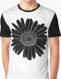 Black daisy Graphic T-Shirt