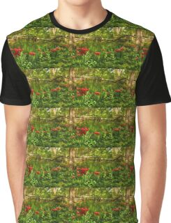 Untamed Tulip Forest - Impressions Of Spring Graphic T-Shirt